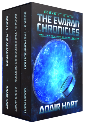 The Evaran Chronicles Box Set: Books 1-3 Image