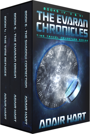 The Evaran Chronicles Box Set: Books 4-6 Image